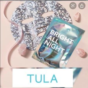 Tula Makeup - 🆕 TULA set of 2 Bright All Night face sheet masks